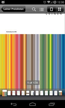 Leiner Preisliste poster