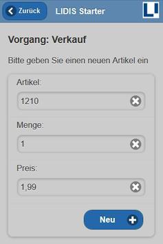 LIDIS Starter apk screenshot