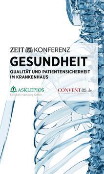 ZEIT KONFERENZ Gesundheit poster