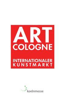 ART COLOGNE 2015 poster