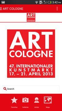 ART COLOGNE 2015 apk screenshot