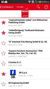 interzum 2015 apk screenshot