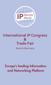 IP Service World Meeting poster