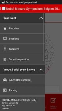 Symposium BELGIUM apk screenshot