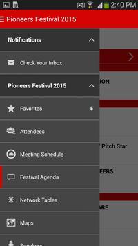 Pioneers Festival 2015 apk screenshot