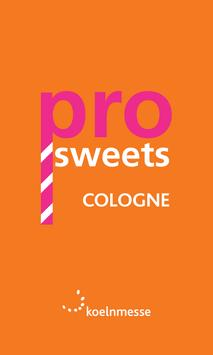 ProSweets Cologne 2015 poster
