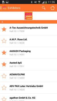 ProSweets Cologne 2015 apk screenshot