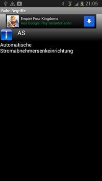 Bahn Begriffe apk screenshot