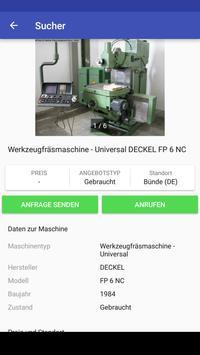 Maschinensucher apk screenshot