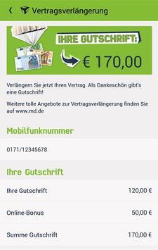Mein mobilcom-debitel apk screenshot