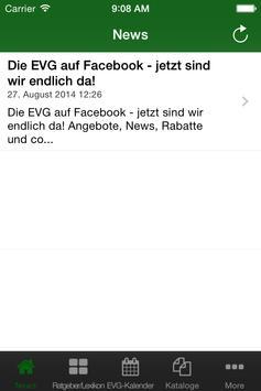 EVG-App apk screenshot