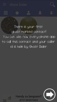 Ghost Dialer apk screenshot