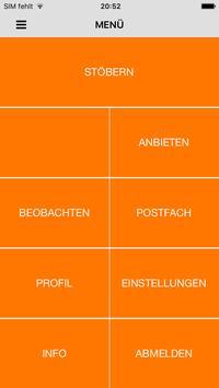 COMICS - Flohmarkt und Service poster
