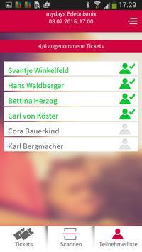 mydays Partner-App apk screenshot