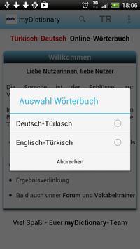 Türkisch Deutsch Wörterbuch apk screenshot