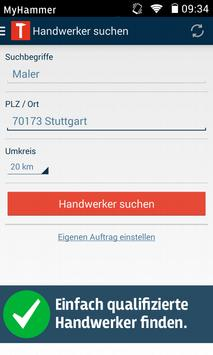 MyHammer apk screenshot