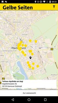 Gelbe Seiten Notfall-App apk screenshot