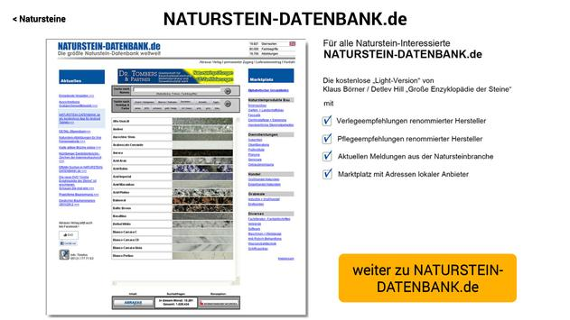 NATURSTEIN-DATENBANK.de apk screenshot