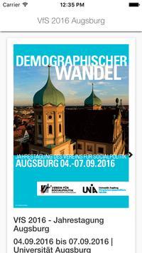 VfS 2016 Augsburg poster