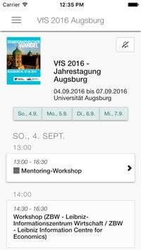 VfS 2016 Augsburg apk screenshot