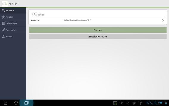 KomNet apk screenshot