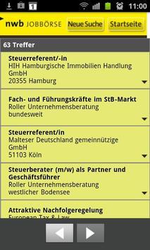 NWB Jobbörse apk screenshot