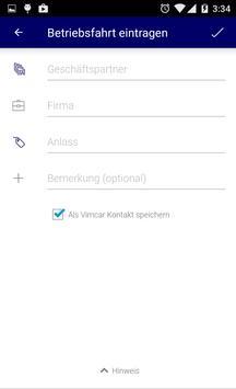 o2 Fahrtenbuch Pro by Vimcar apk screenshot