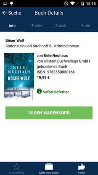 Mein Buchkauf apk screenshot