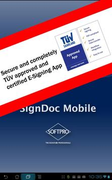 SignDoc Mobile apk screenshot