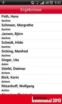 Deutschland kommunal 2013 apk screenshot