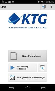 KTG-Freimeldung apk screenshot