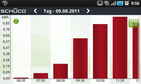Schüco Sunalyzer App apk screenshot