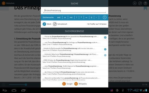 AnwaltVerlag - Fachbibliothek apk screenshot