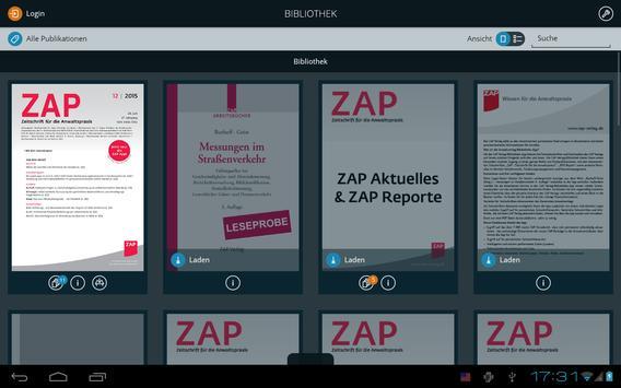 ZAP Verlag - Bibliothek poster