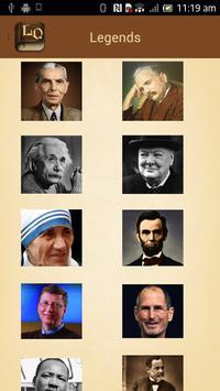 Legends Quotes Library apk screenshot