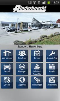 Mein Autohaus Rinderknecht poster