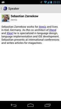 EclipseCon 2013 apk screenshot