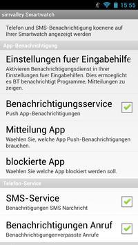 simvalley Smartwatch apk screenshot