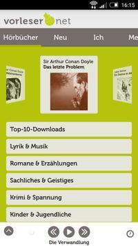 vorleser.net poster