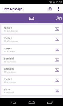 Raze Message apk screenshot