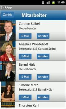 SHPapp - SEIBEL HÜLS PARTNER apk screenshot
