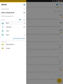 WEB.DE Mail apk screenshot