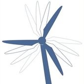 Wind bewegt icon