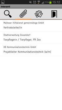 Interamt apk screenshot