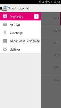 Vizuelna govorna poshta apk screenshot