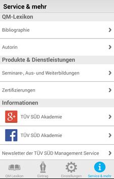 QM Kompakt, TÜV SÜD QM-Lexikon apk screenshot