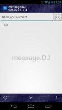 WebSMS: message.DJ Addon poster