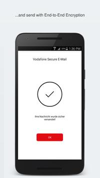 Vodafone Secure E-Mail apk screenshot