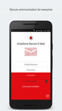 Vodafone Secure E-Mail poster