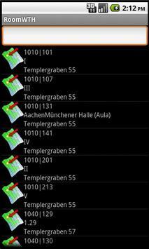 RoomWTH apk screenshot